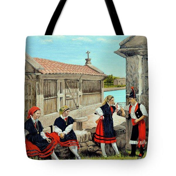 Galicia La Bella Tote Bag by Tony Banos
