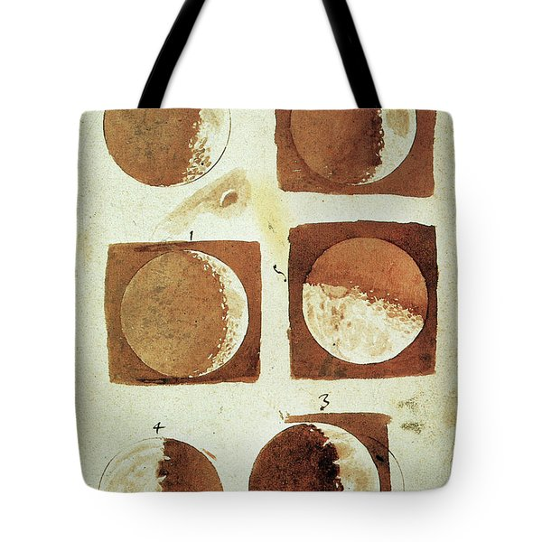 Galileo - Moon Tote Bag by Granger