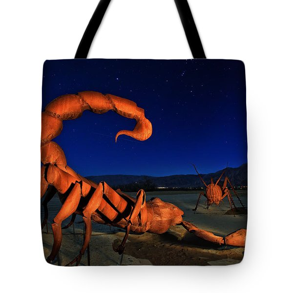 Galleta Meadows Estate Sculptures Borrego Springs Tote Bag