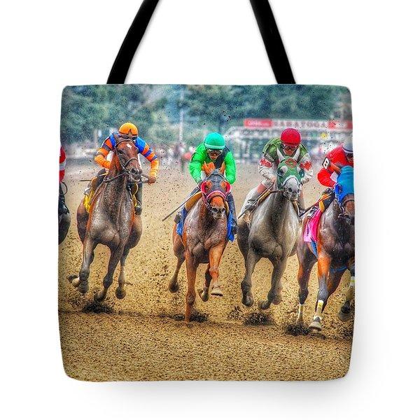 Galloping Tote Bag
