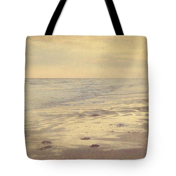Galveston Island Sunset Seascape Photo Tote Bag by Svetlana Novikova