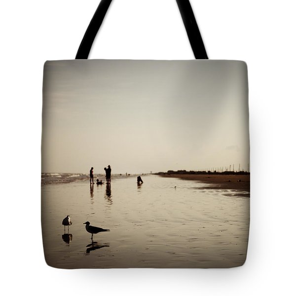Galveston Seagulls Tote Bag