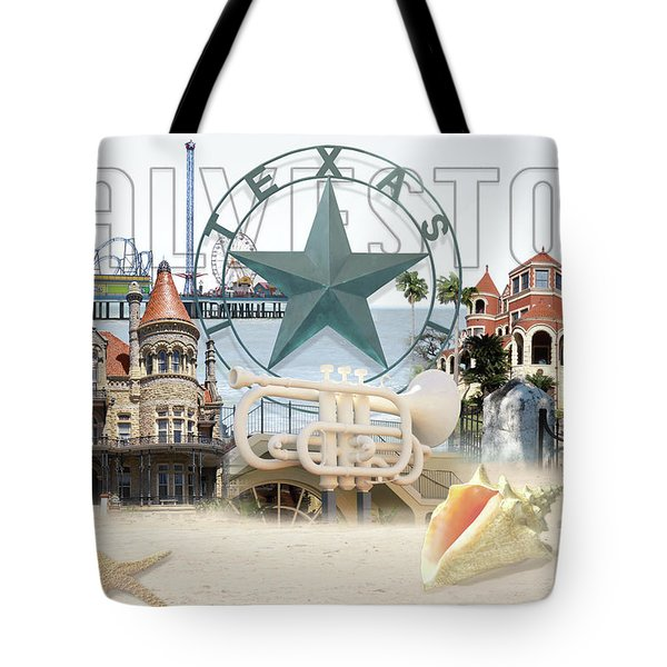 Galveston Texas Tote Bag