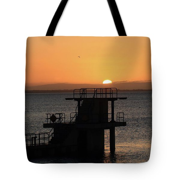 Galway Bay Sunrise Tote Bag