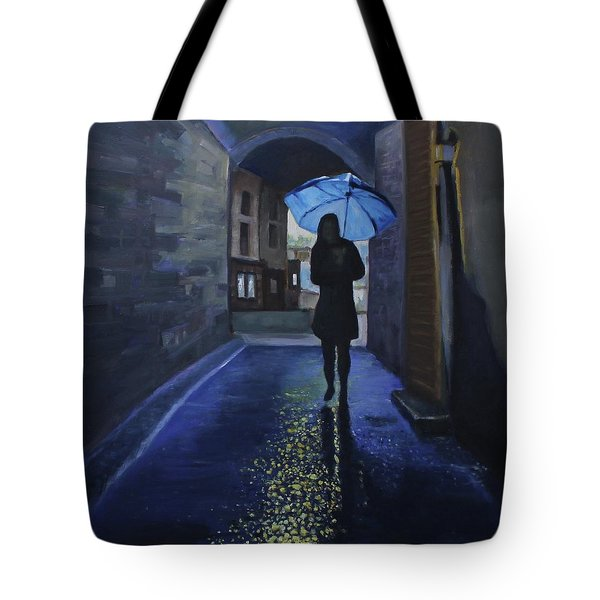 Galway Girl Tote Bag