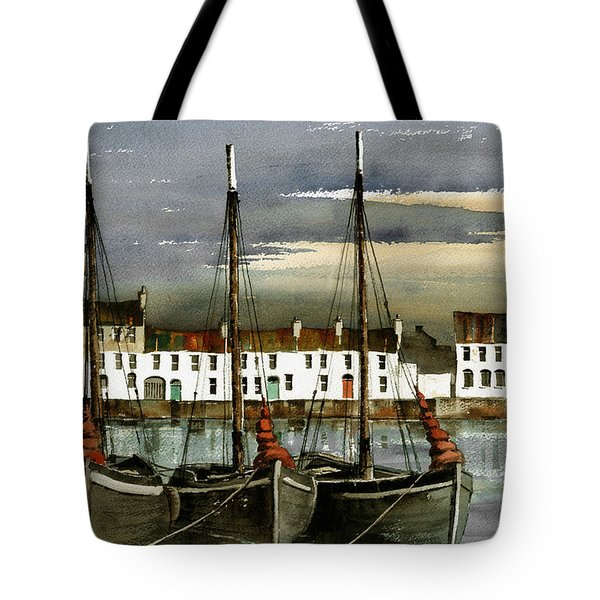 Galway.. Hookers In The Cladagh Tote Bag