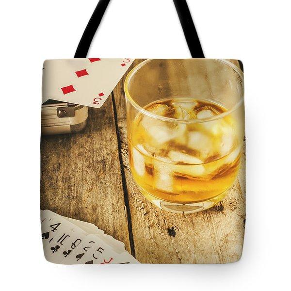 Gamblers Still Life Tote Bag