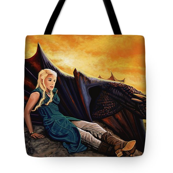 Game Of Thrones Painting Tote Bag