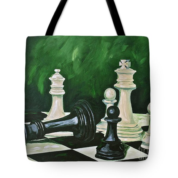 Game Over Tote Bag by Herschel Fall