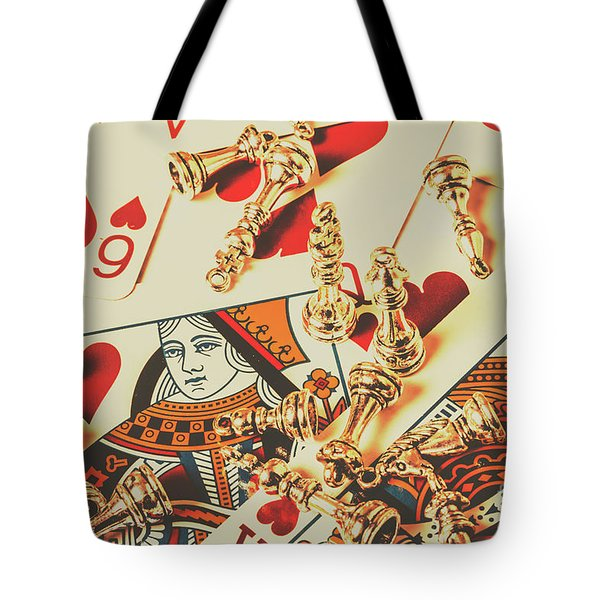 Games Of Love Tote Bag
