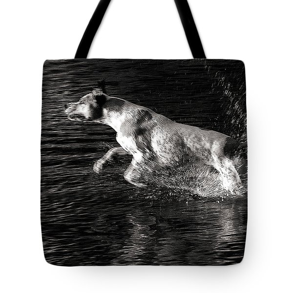 Games On The Water 2 Tote Bag