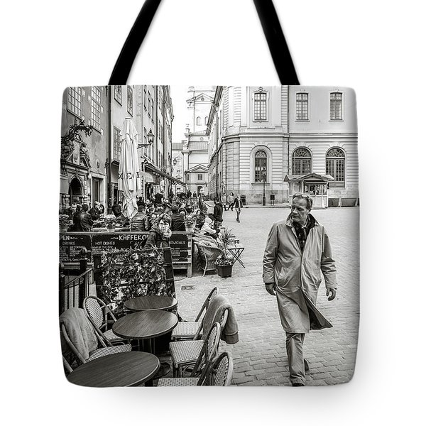 Gamla Stan Tote Bag by Marius Sipa