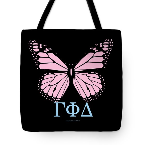 Gamma Phi Delta Classy Butterfly  Tote Bag