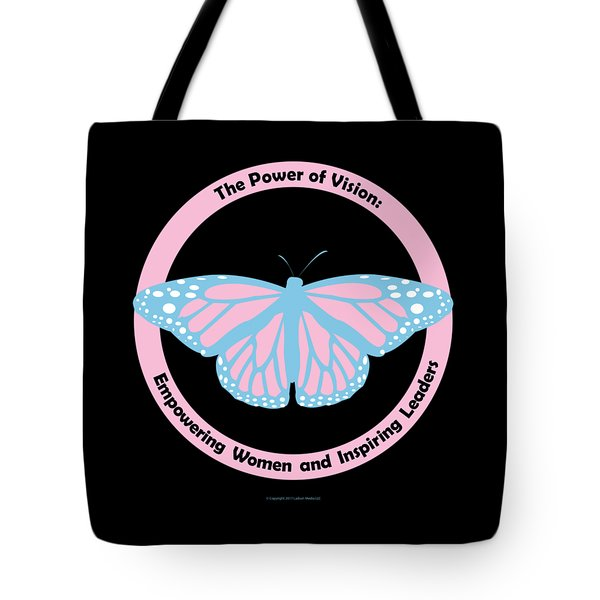 Gamma Phi Delta, The Power Of Vision Tote Bag