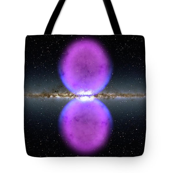 Gamma Ray Bubbles Tote Bag
