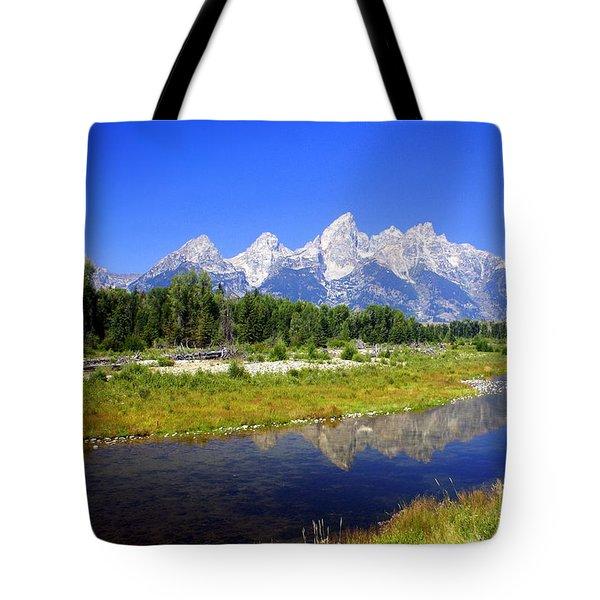 Gand Teton 42 Tote Bag by Marty Koch