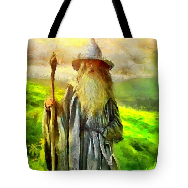 Gandalf, The  Grey Tote Bag