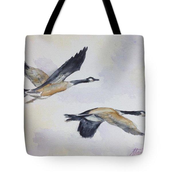 Gander Tote Bag by Stan Tenney