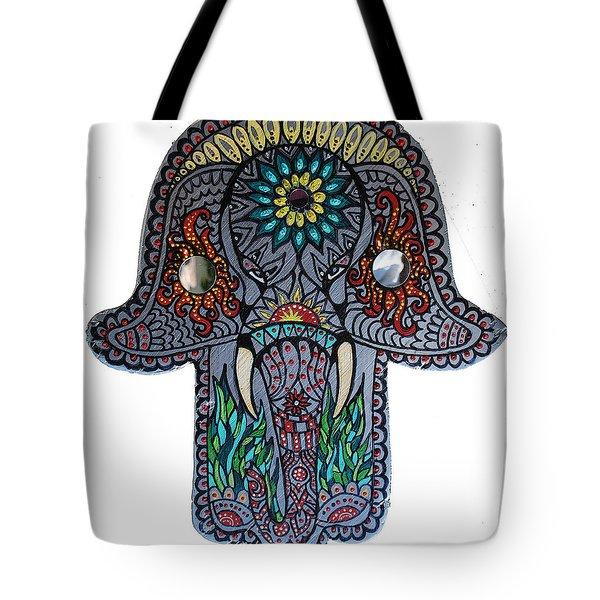 Ganesha Hamsa Tote Bag