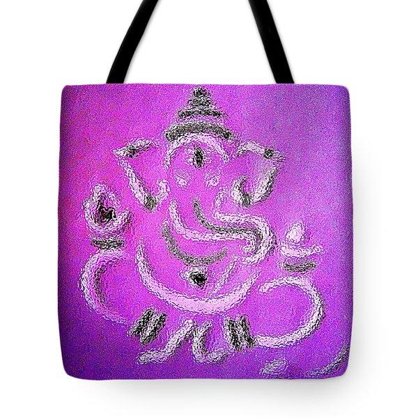 Ganesha Tote Bag by Piety Dsilva