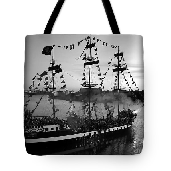 Gang Of Pirates Tote Bag