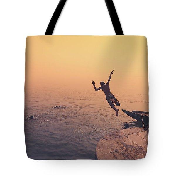 Ganges  Tote Bag