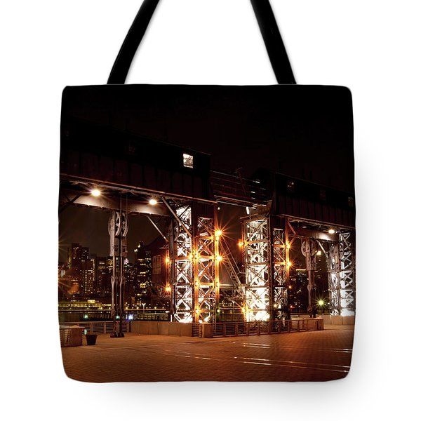 Gantry Nights Tote Bag