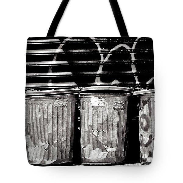 Garbage Tote Bag by Madeline Ellis