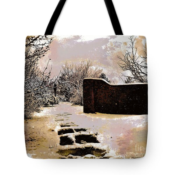 Garden Art Print  Tote Bag