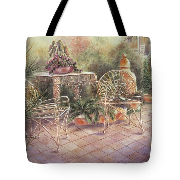 Garden At Linwood  Tote Bag