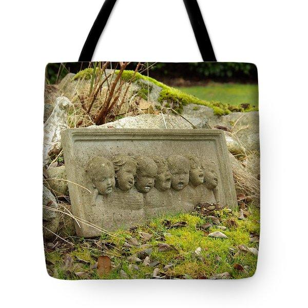 Garden Babies II Tote Bag