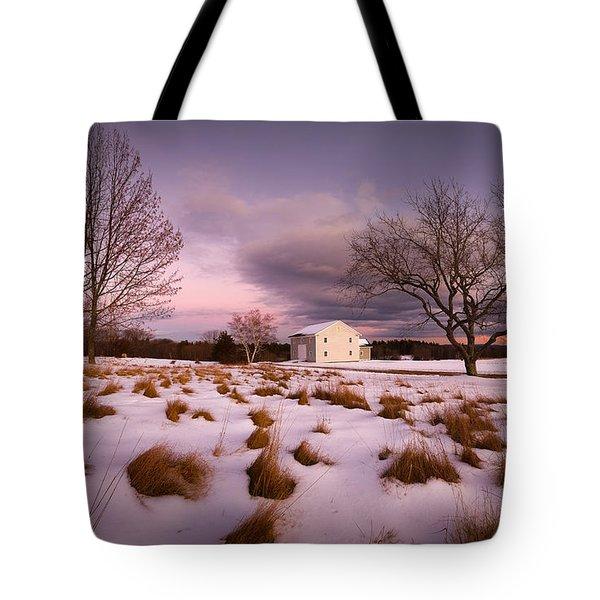 Garden Barn Tote Bag by Robert Clifford