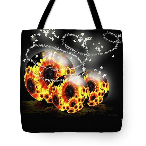 Garden Beginnings Tote Bag by Cathy  Beharriell