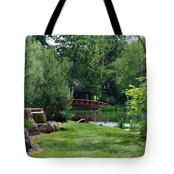 Garden Bridge Tote Bag
