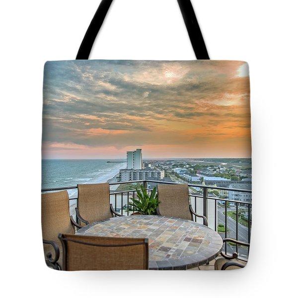 Garden City Beach View Tote Bag