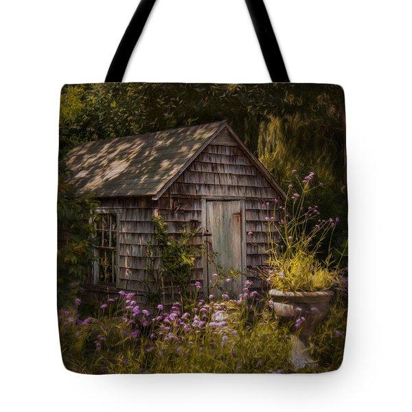 Tote Bag featuring the photograph Garden D'light by Robin-Lee Vieira