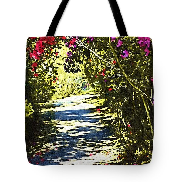 Tote Bag featuring the photograph Garden by Donna Bentley