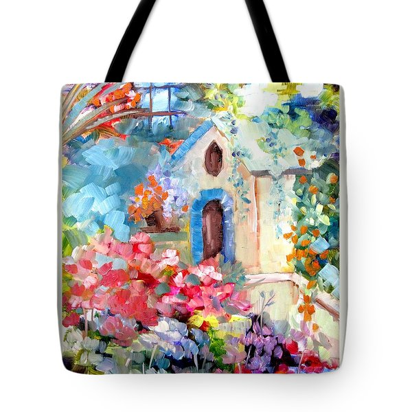 Garden Door  Tote Bag