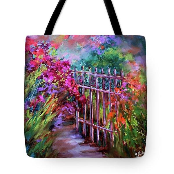 Garden Dwelling Tote Bag