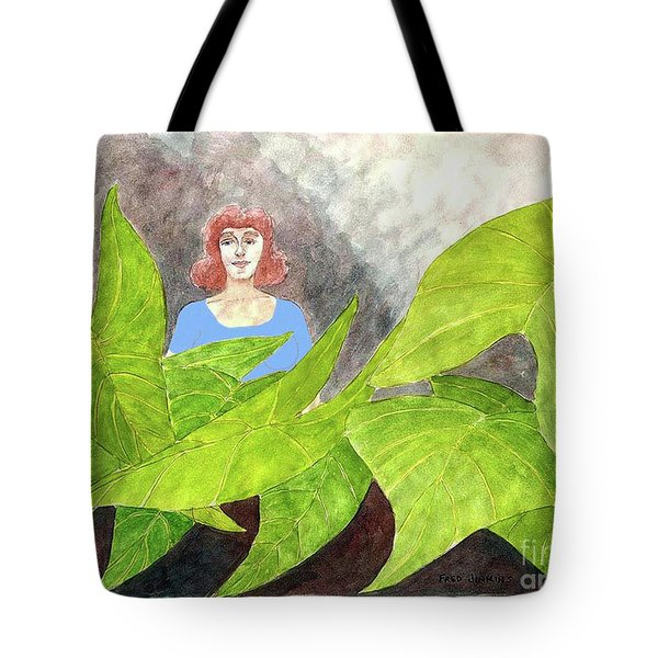 Garden Fantasy  Tote Bag by Fred Jinkins