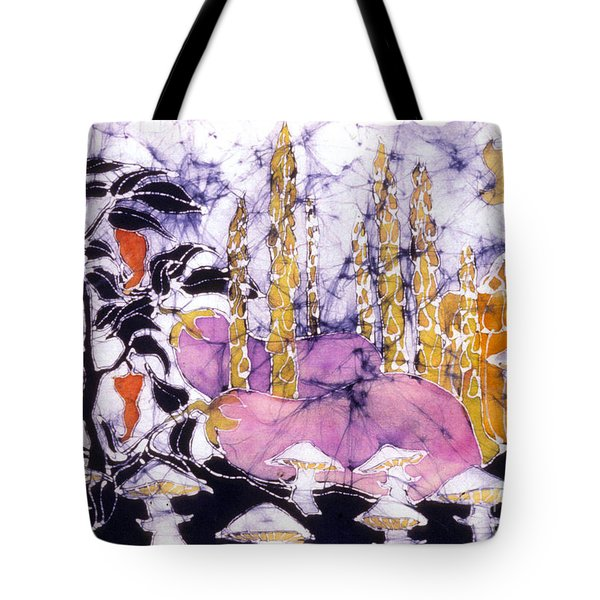 Garden Fest From The Sun Tote Bag by Carol  Law Conklin