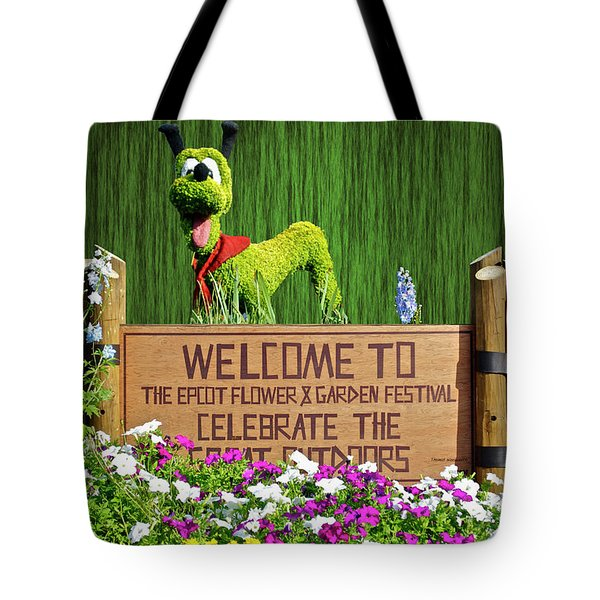 Garden Festival Mp Tote Bag
