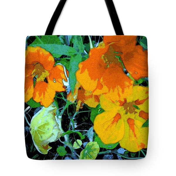 Tote Bag featuring the digital art Garden Flavor by Winsome Gunning