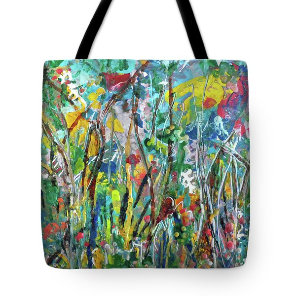 Garden Flourish Tote Bag