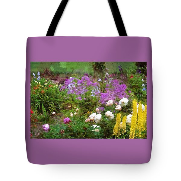 Tote Bag featuring the photograph Garden Fun by Thom Zehrfeld