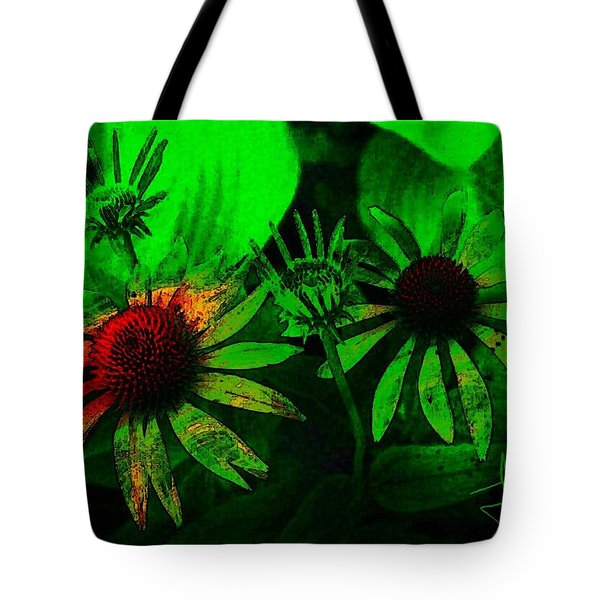 Garden Green Tote Bag by Jim Vance