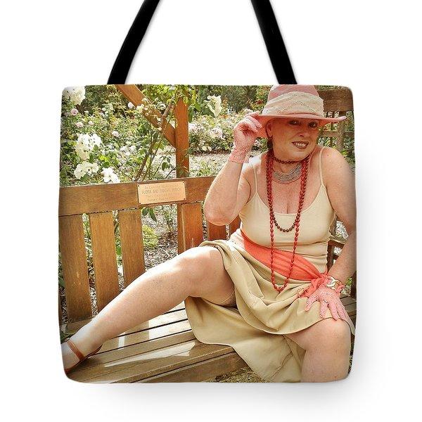 Garden Gypsy Tote Bag by VLee Watson