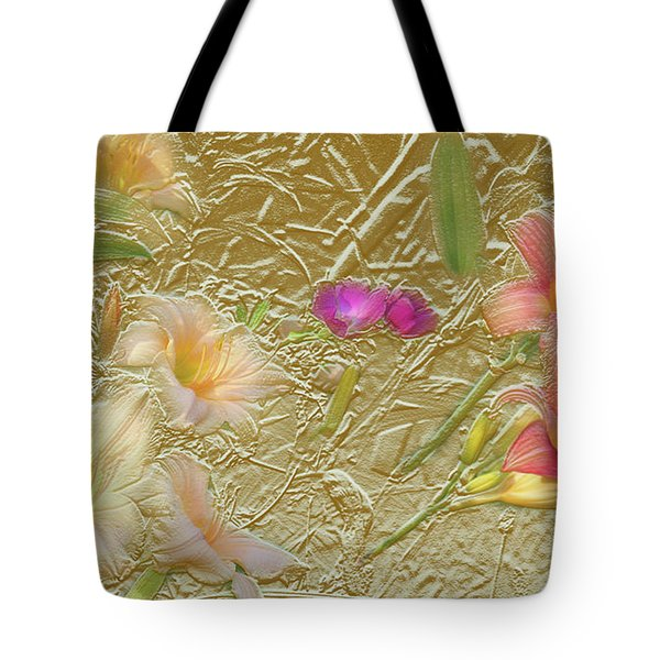 Garden In Gold Leaf2 Tote Bag