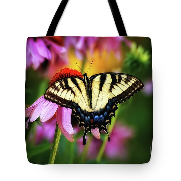 Garden Jewelry Tote Bag by Lois Bryan