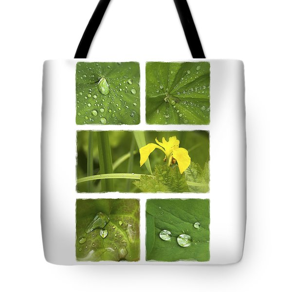 Garden Jewels II Tote Bag by Hazy Apple